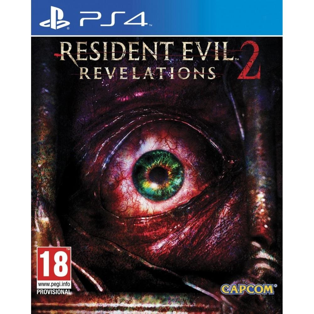 RESIDENT EVIL REVELATIONS 2 PS4 FR OCCASION