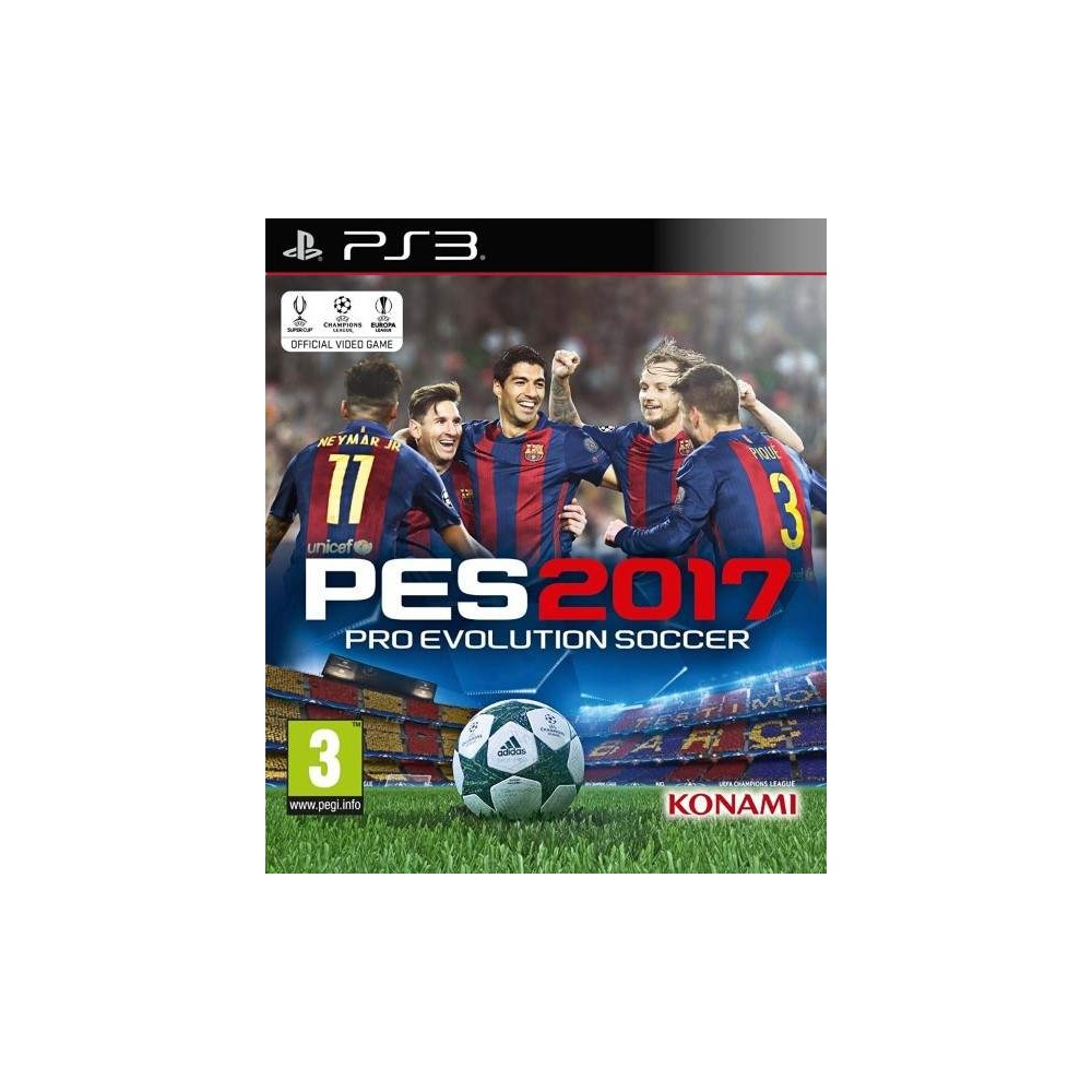 PES 17 PS3 FR NEW