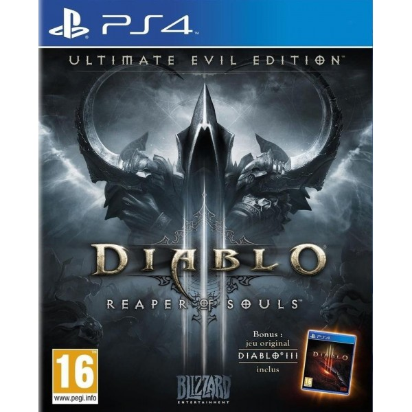 DIABLO 3 REAPER OF SOULS PS4 VF