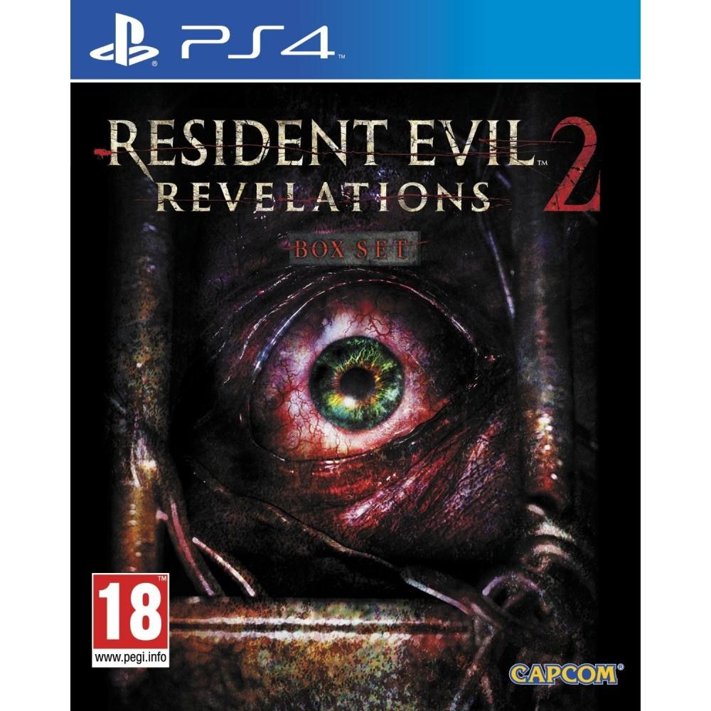 RESIDENT EVIL REVELATIONS 2 PS4 UK OCC