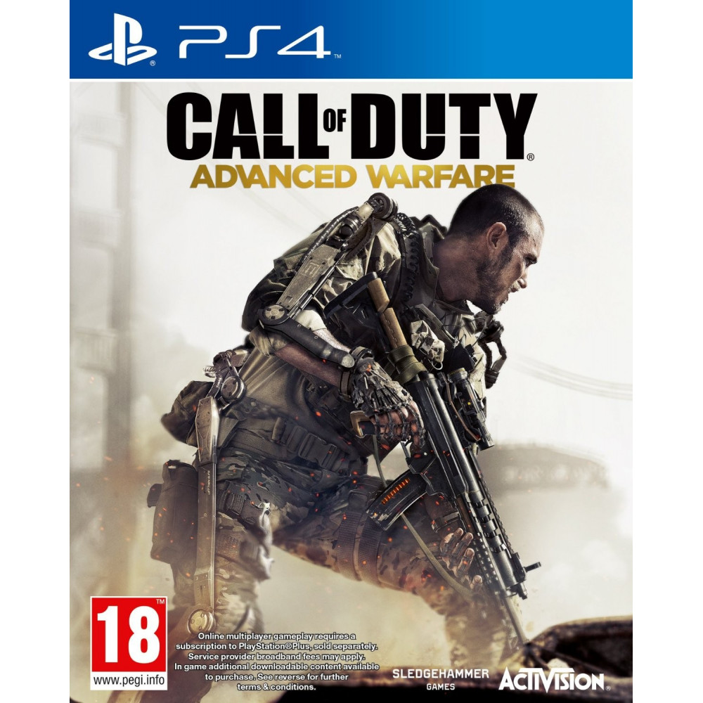 CALL OF DUTY ADVANCED WARFARE PS4 FR OCCASION