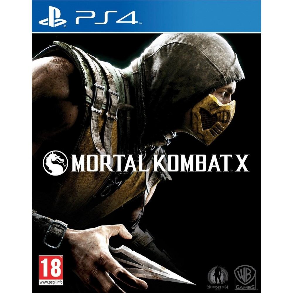 MORTAL KOMBAT X PS4 FR OCCASION