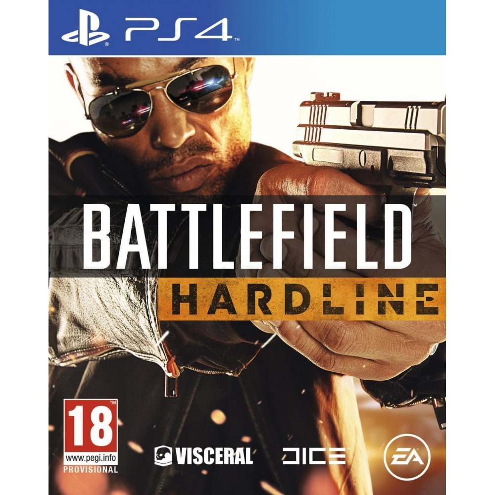 BATTLEFIELD HARDLINE PS4 EURO FR OCCASION