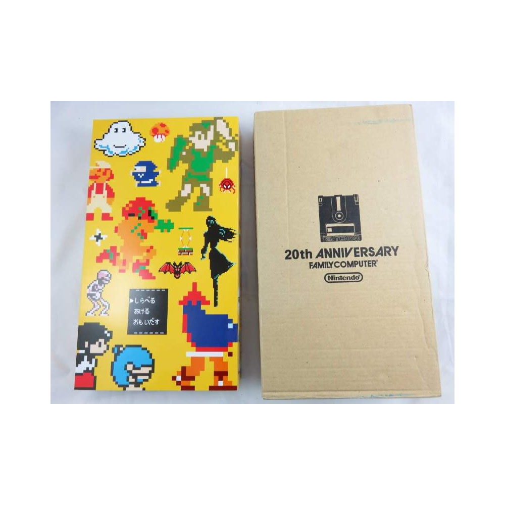 CLUB NINTENDO GAMEBOY ADVANCE 20TH ANNIVERSARY FAMICOM MINI COLLECTION BOX VOL.3 JPN OCCASION (SANS JEU)