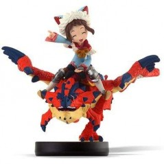 AMIIBO MONSTER HUNTER STORIES ONE-EYED RATHALOS & RIDER GIRL JPN NEW