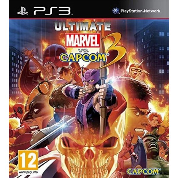 ULTIMATE MARVEL CAPCOM 3 PS3 FR OCCASION