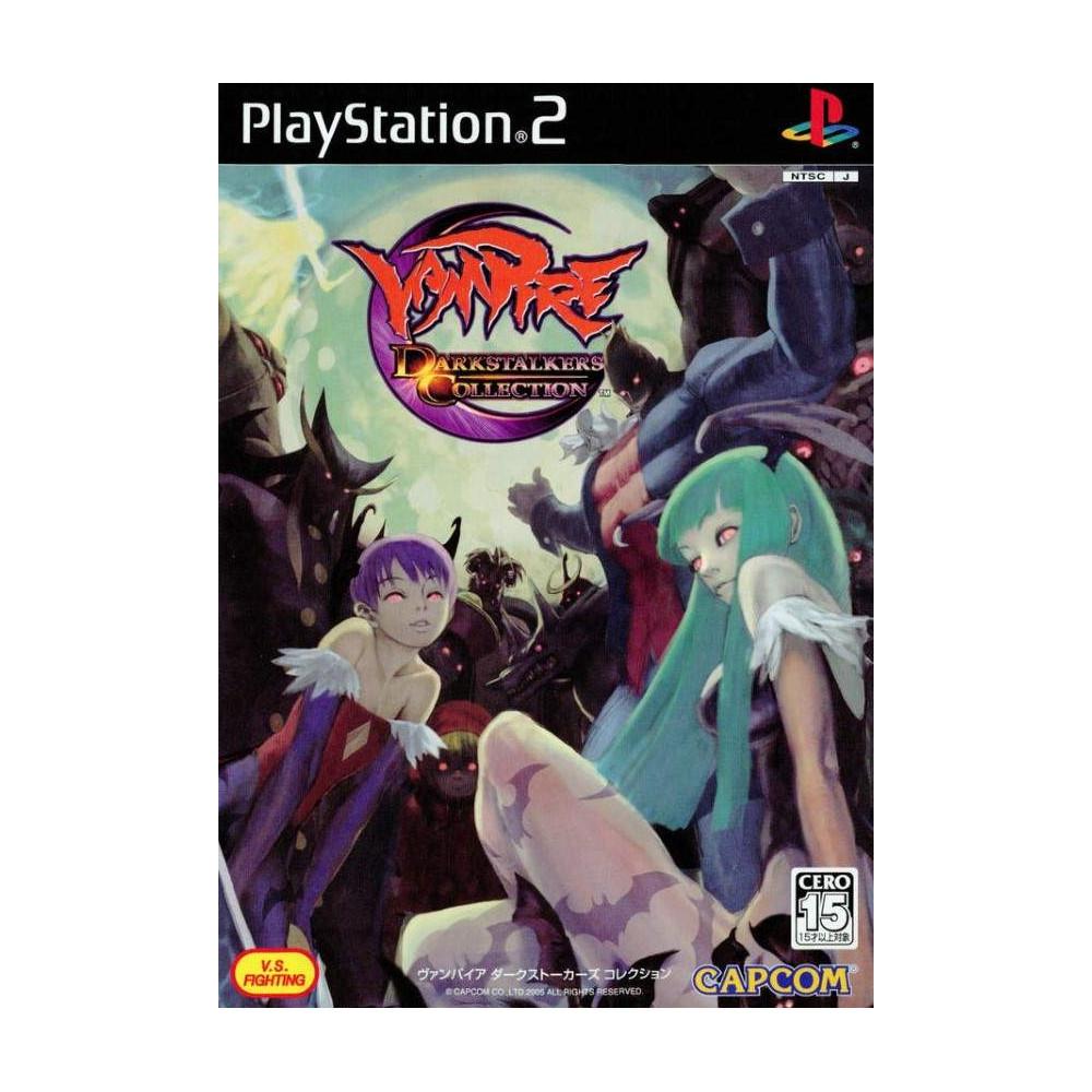 VAMPIRE DARKSTALKERS COLLECTION PS2 NTSC-JPN OCCASION