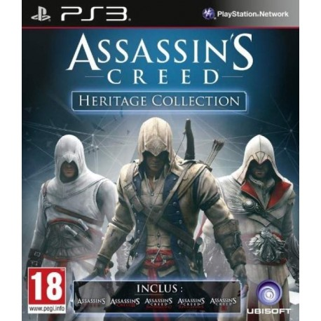 ASSASSIN S CREED HERITAGE COLLECTION PS3 FR OCCASION