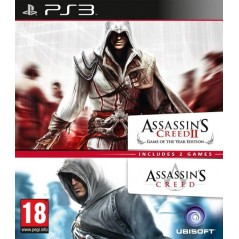 ASSASSINS CREED 2 (GAME OF THE YEAR) & ASSASSINS CREED PS3 FR-NL OCCASION