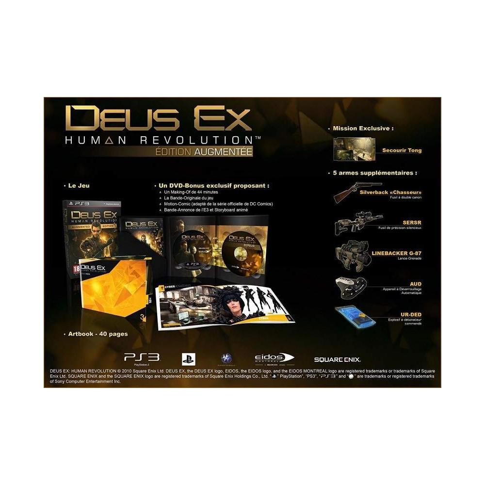 DEUS EX HUMAN REVOLUTION EDITION AUGMENTEE PS3 FR OCCASION