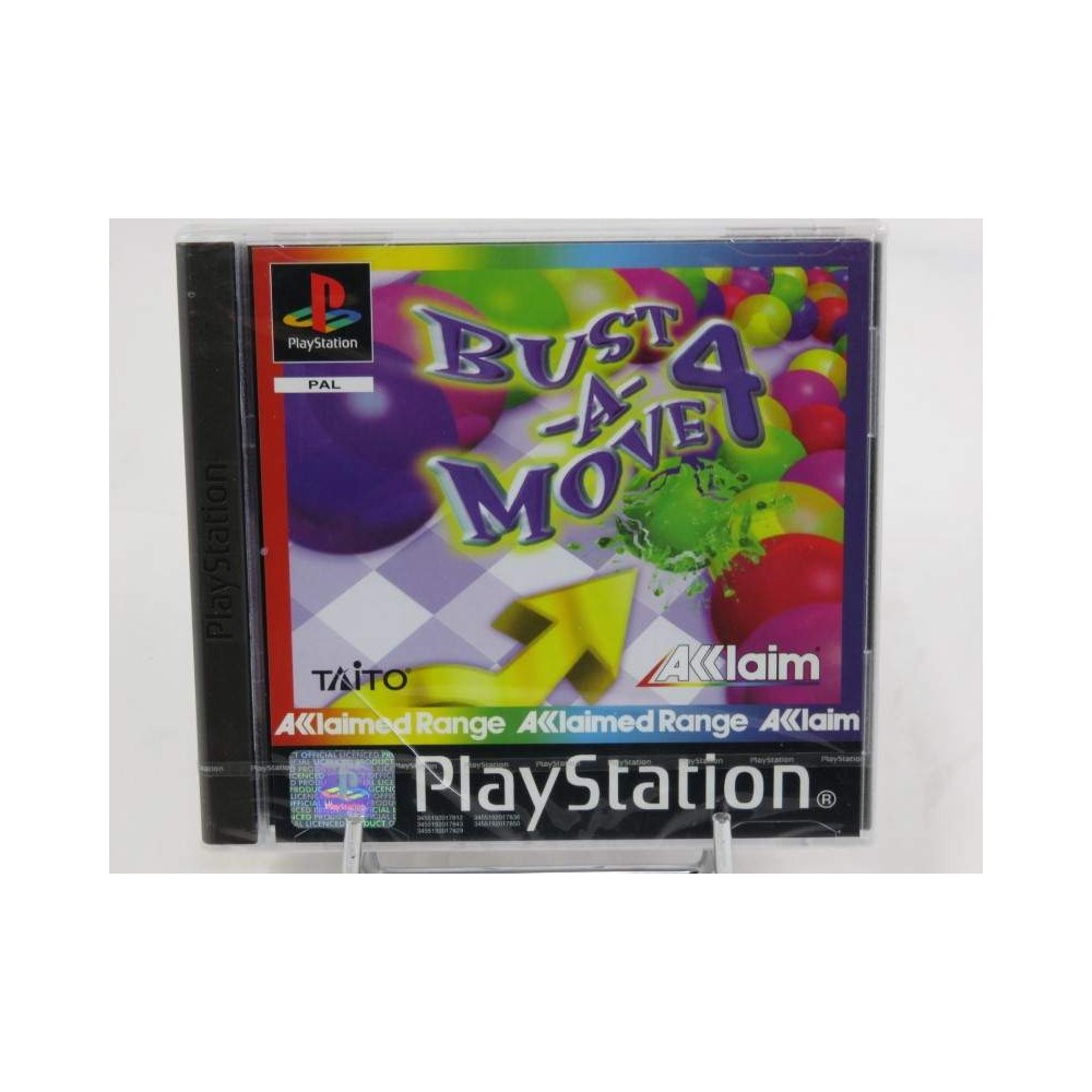 BUST-A-MOVE 4 PS1 PAL-EURO NEW