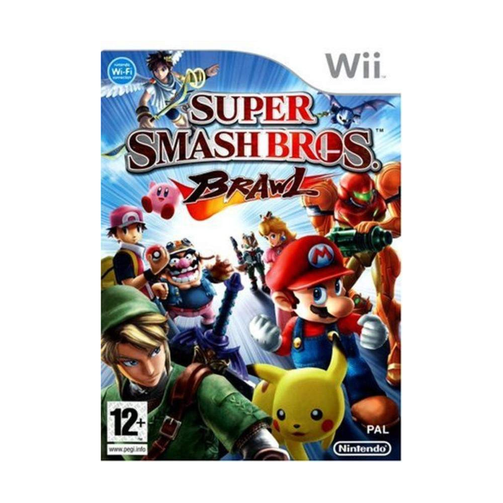 SUPER SMASH BROS BRAWL WII PAL-FRA OCCASION