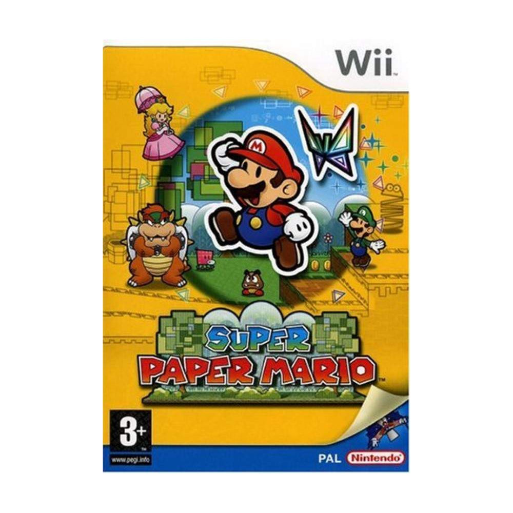SUPER PAPER MARIO WII PAL-FRA OCCASION