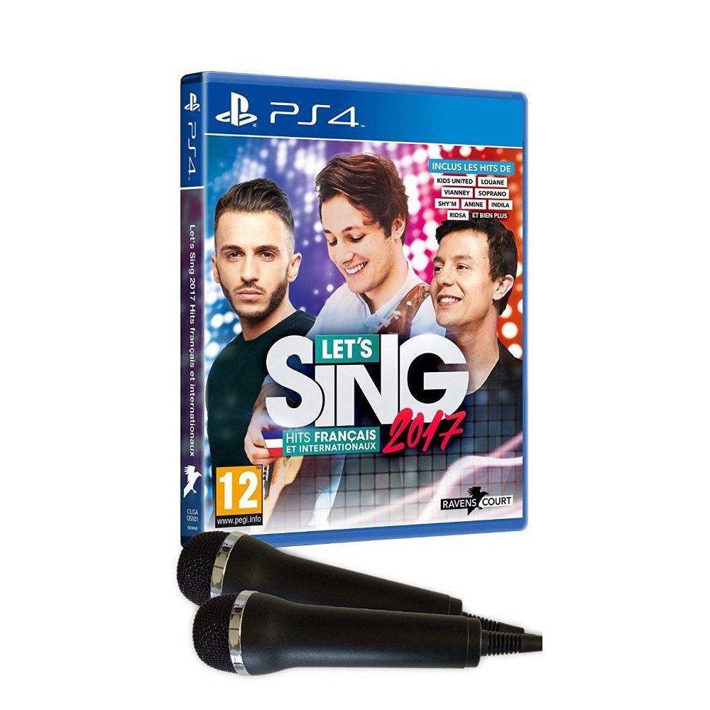LET'S SING 2017 HITS FRANCAIS ET INTERNATIONAUX PS4 FR NEW