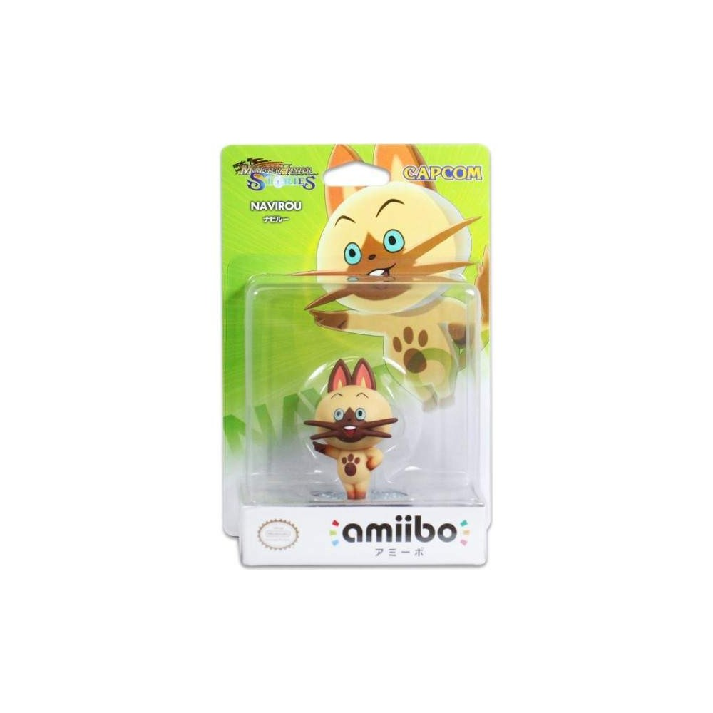 AMIIBO MONSTER HUNTER STORIES NABIRU JPN NEW