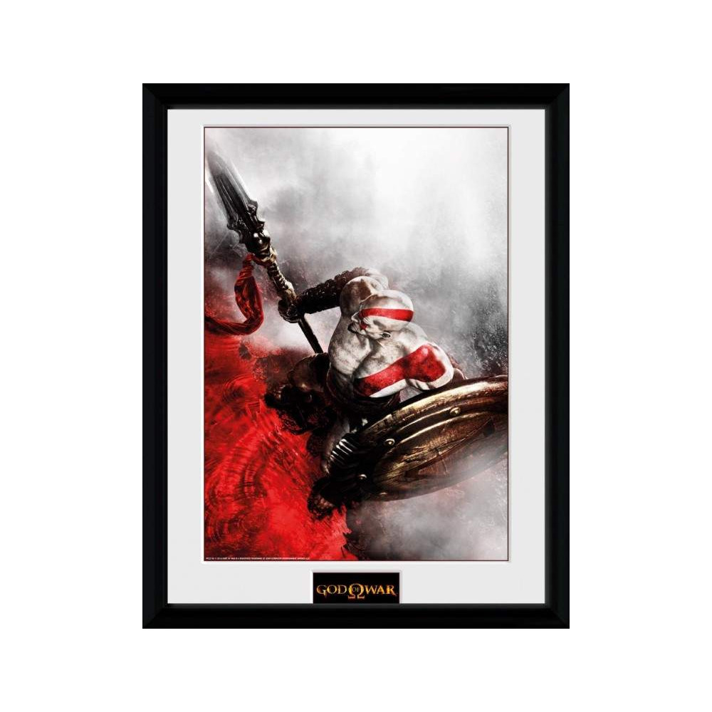 GOD OF WAR KRATOS SPARTA WING COLLECTOR PRINT NEW