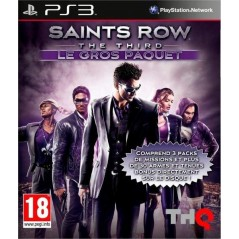 SAINTS ROW THE THIRD LE GROS PAQUET PS3 FR OCCASION