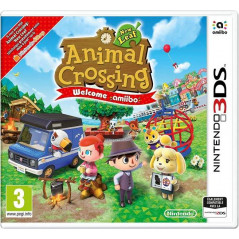 ANIMAL CROSSING NEW LEAF WELCOME AMIIBO 3DS FRANCAIS NEW