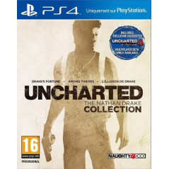 UNCHARTED THE NATHAN DRAKE COLLECTION PS4 ANGLAIS NEW