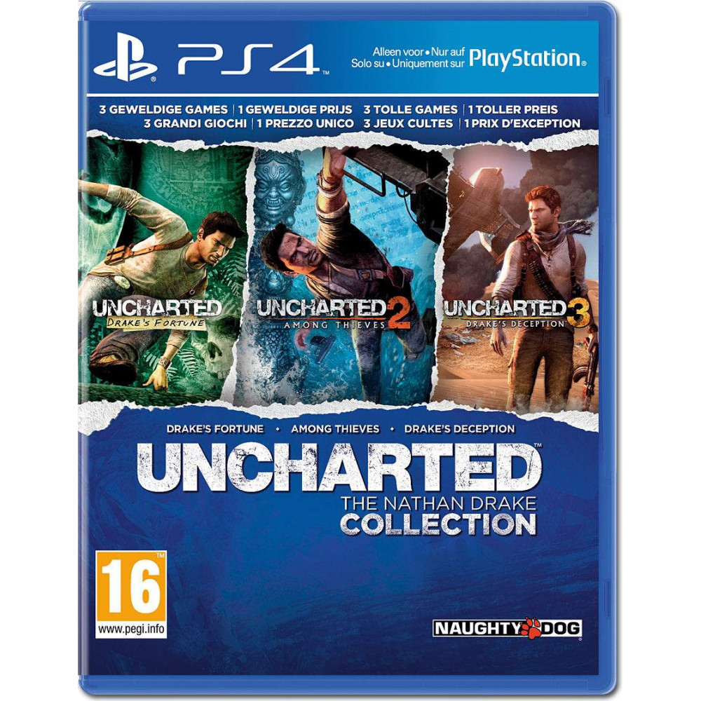 UNCHARTED DRAKE COLLECTION PS4 EURO FRANCAIS NEW