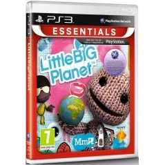 LITTLE BIG PLANET ESSENTIALS PS3 EURO FRANCAIS NEW