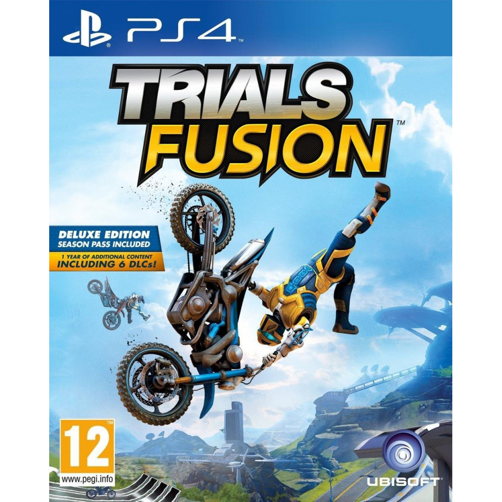 TRIALS FUSION EDITION DAY ONE PS4 VF OCC