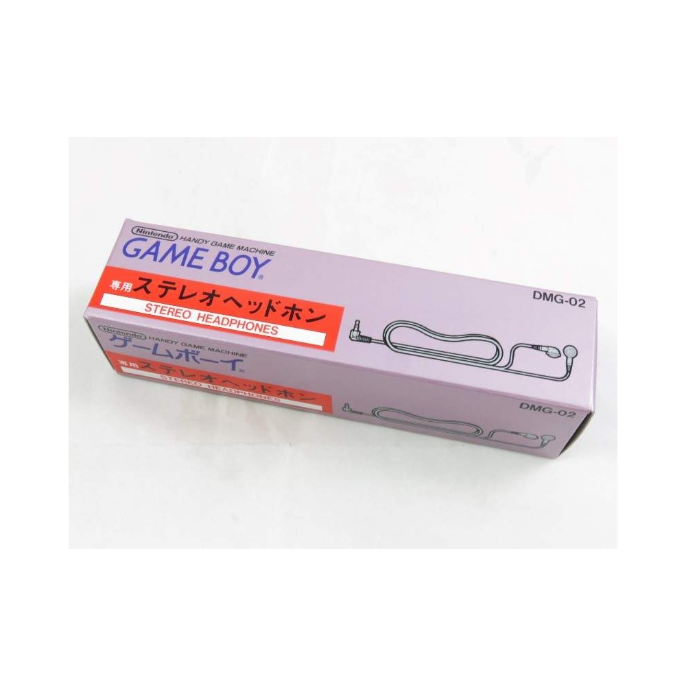 ECOUTEURS GAMEBOY (STEREO HEADPHONES) JPN NEW