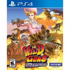 WILD GUNS RELOADED PS4 AMERICAIN NEW