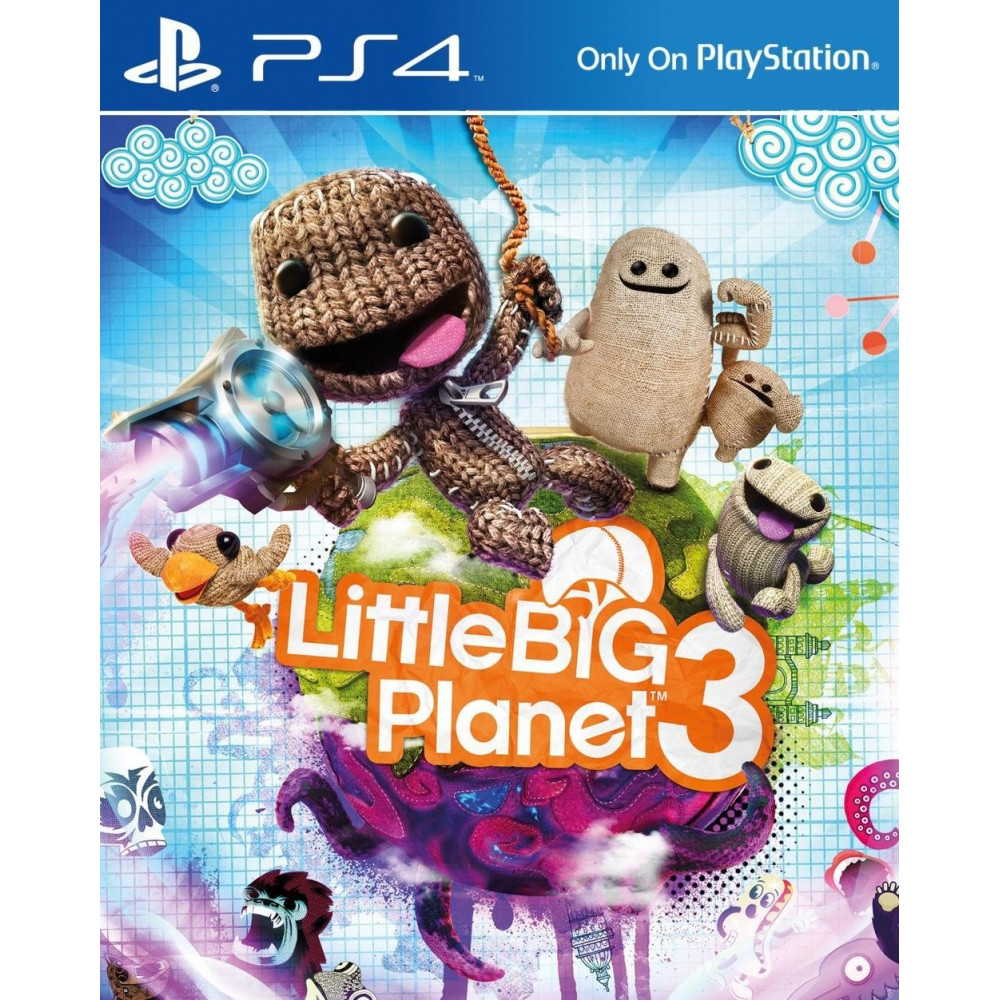 LITTLE BIG PLANET 3 PS4 EURO FRANCAIS NEW