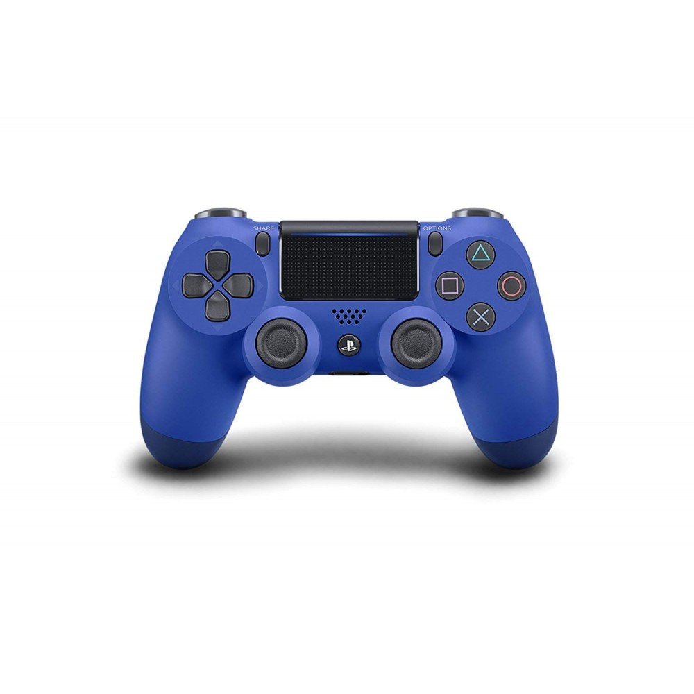 CONTROLLER WIRELESS DUAL SHOCK 4 WAVE BLUE PS4 EURO NEW
