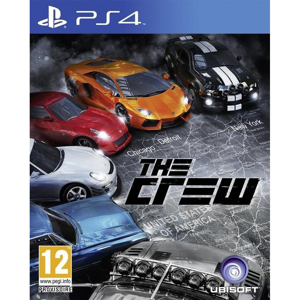 THE CREW PS4 FR OCCASION