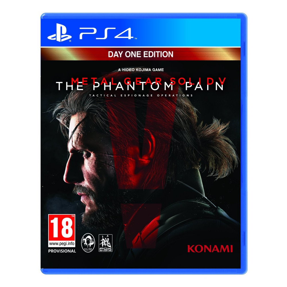 METAL GEAR SOLID PHANTOM PAIN ED.DAY PS4 UK OCC