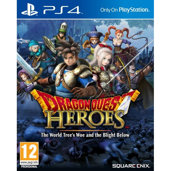 DRAGON QUEST HEROES PS4 FR OCCASION