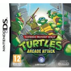 TEENAGE MUTANT NINJA TURTLES ARCADE ATTACK NDS FRA OCCASION