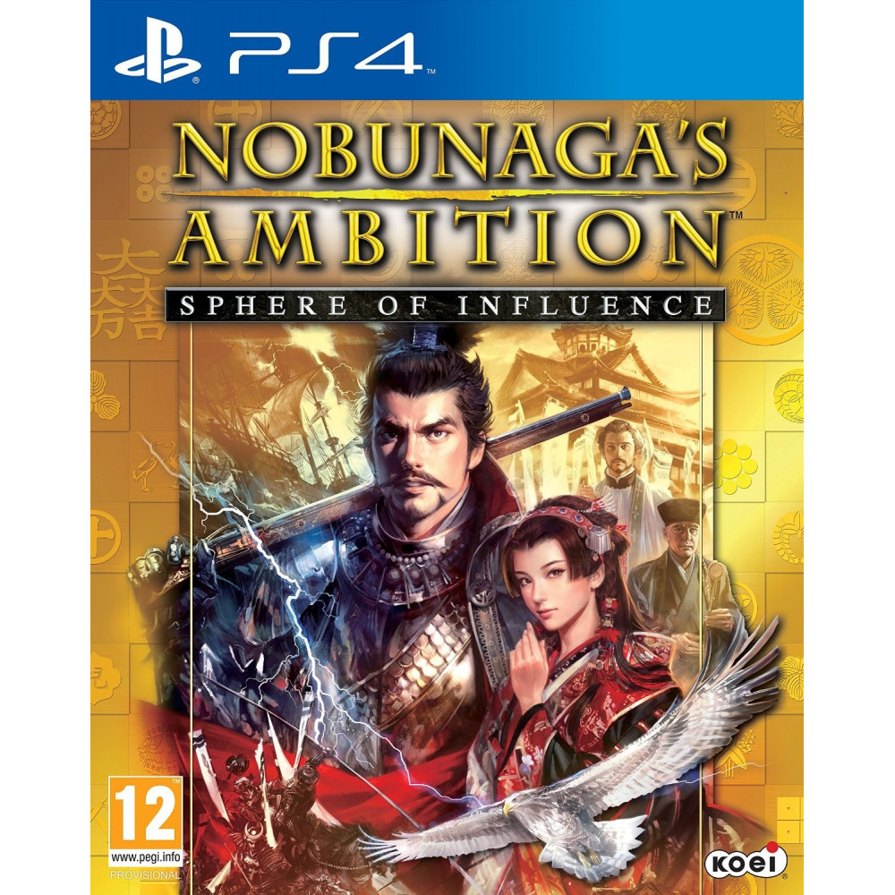 NOBUNAGA S AMBITION PS4 VF OCC