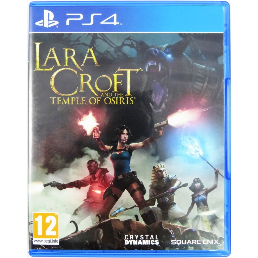 LARA CROFT THE TEMPLE OF OSIRIS BUNDLE COPY PS4 OCC