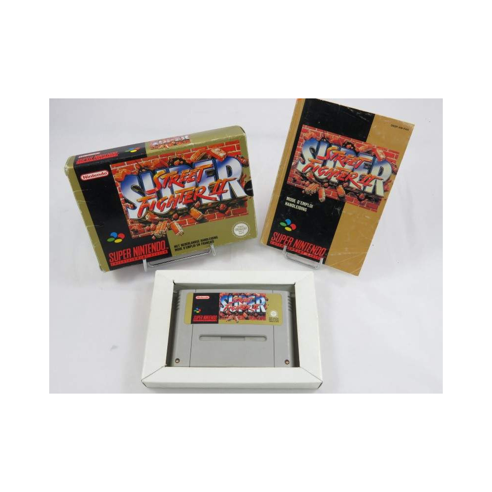 Boîte SNES FAH Street Fighter 2