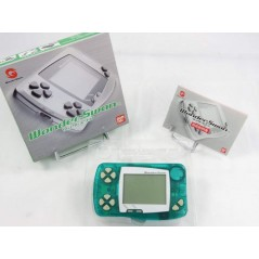 CONSOLE WONDERSWAN SKELETON GREEN JPN OCCASION
