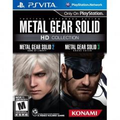 METAL GEAR SOLID HD COLLECTION PSVITA US