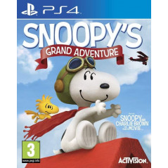 SNOOPY S GRAND ADVENTURE PS4 UK NEW