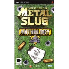 METAL SLUG ANTHOLOGY PSP FR OCCASION