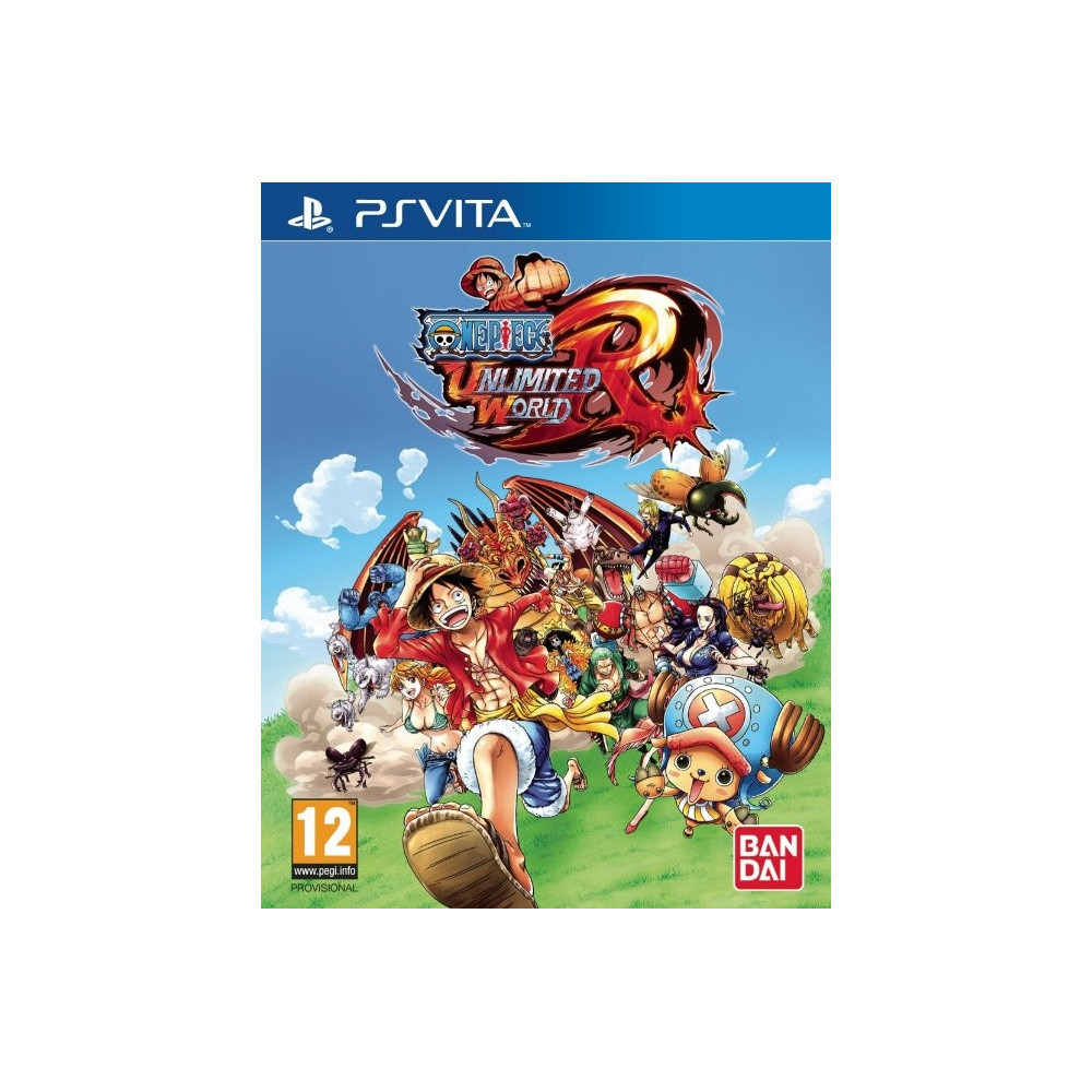 ONE PIECE UNLIMITED WORLD PSVITA FR OCCASION