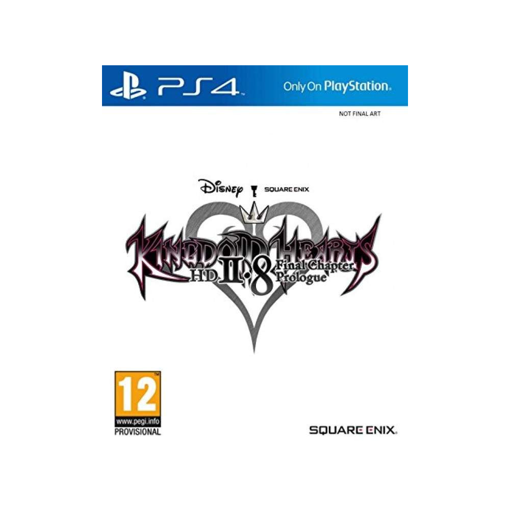 KINGDOM HEARTS 2.8 FINAL CHAPTER PROLOGUE PS4 EURO FRANCAIS NEW
