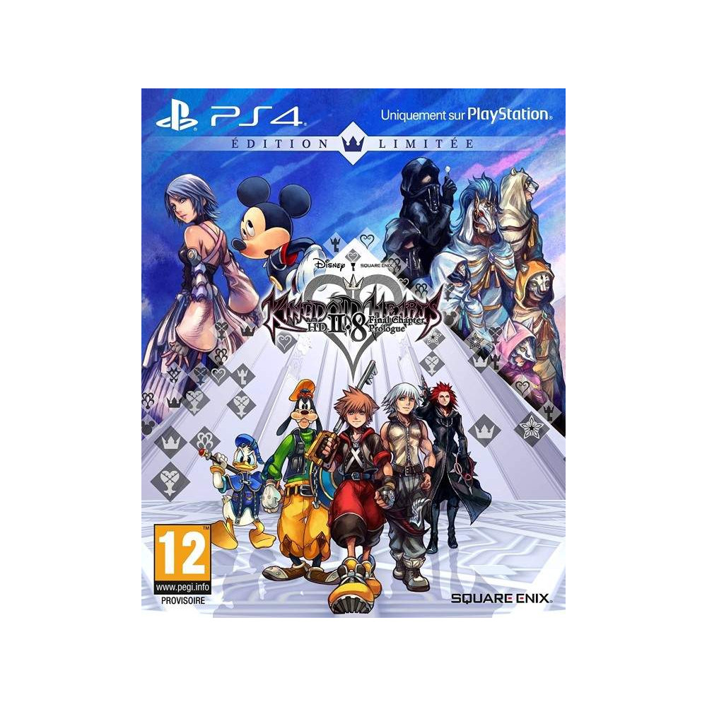 KINGDOM HEARTS 2.8 FINAL CHAPTER PROLOGUE LIMITED EDITION PS4 EURO FRANCAIS NEW