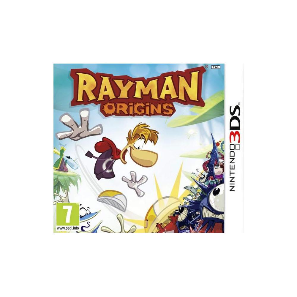 RAYMAN ORIGINS 3DS FRANCAIS NEW