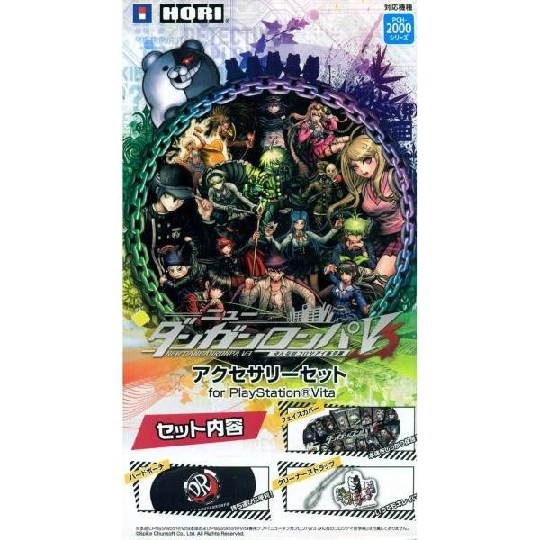 NEW DANGANRONPA V3 ACCESSORY SET FOR PLAYSTATION VITA SLIM JPN NEW