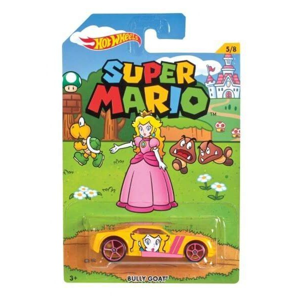HOT WHEELS SUPER MARIO BULLY GOAT NEW