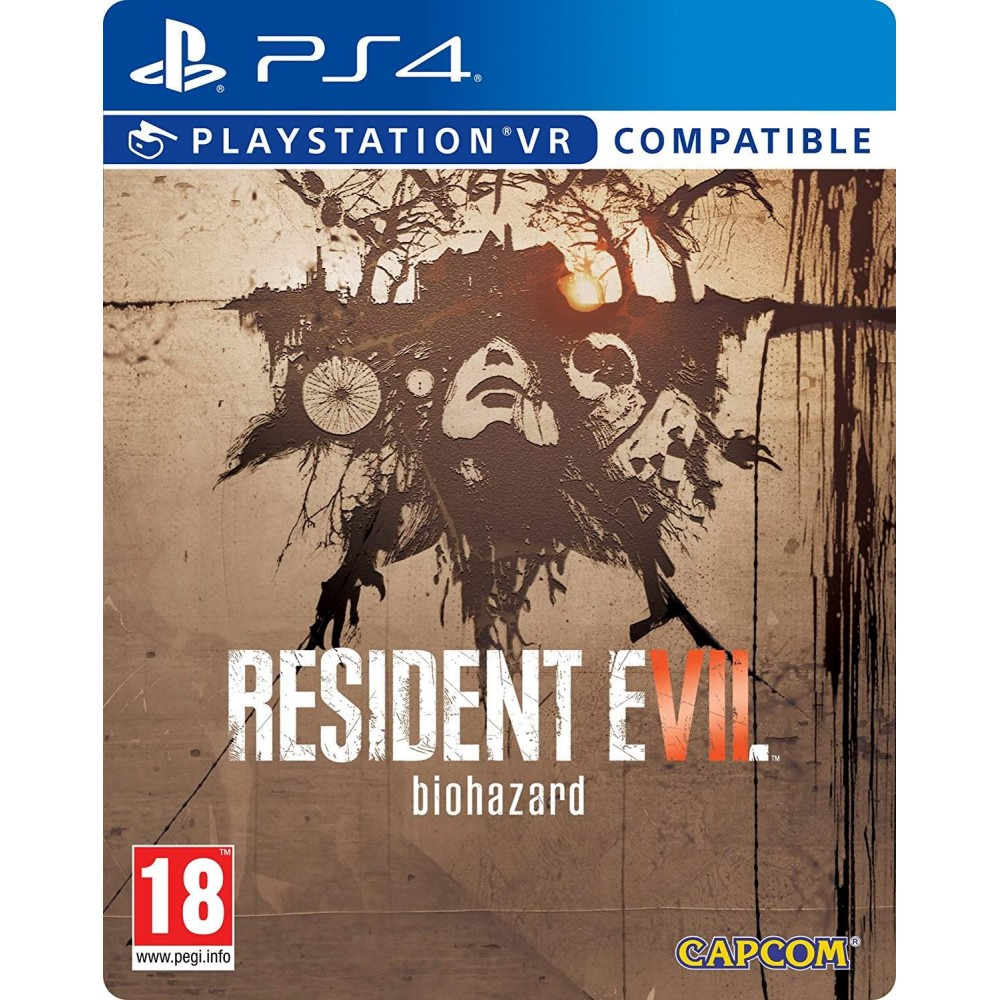 RESIDENT EVIL 7 STEELBOOK PS4 FRANCAIS NEW