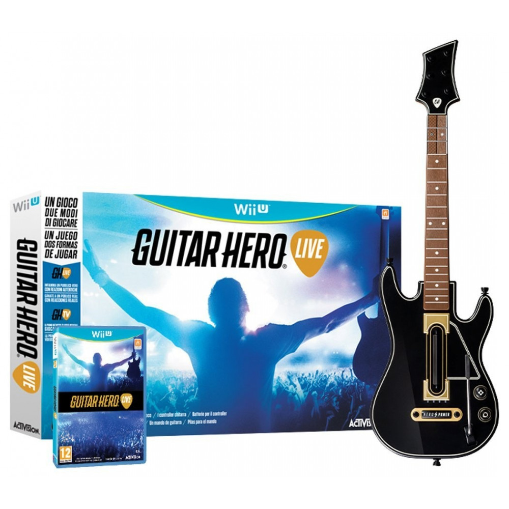 GUITAR HERO LIVE WIIU VF