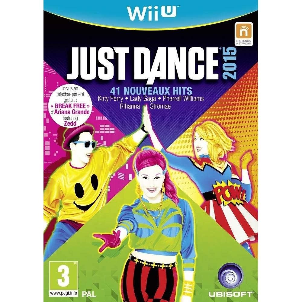JUST DANCE 2015 WIIU VF